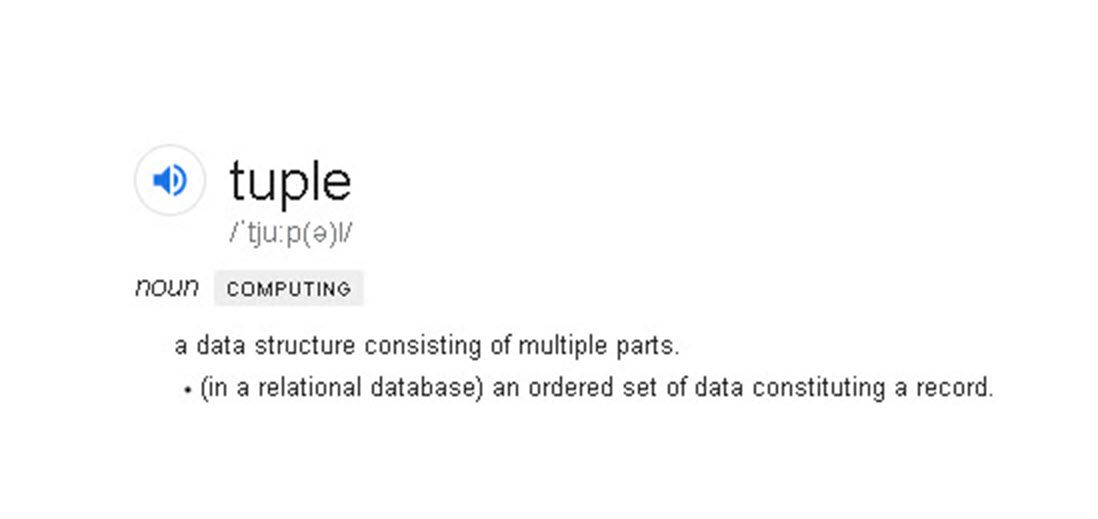 Tuple & ValueTuple (a data structure consisting of multiple parts)